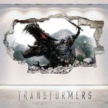 Vinyle d'extinction de l'ère 3D Transformers
