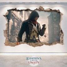 Creed l'unité décoratif vinyl 3D Assassin