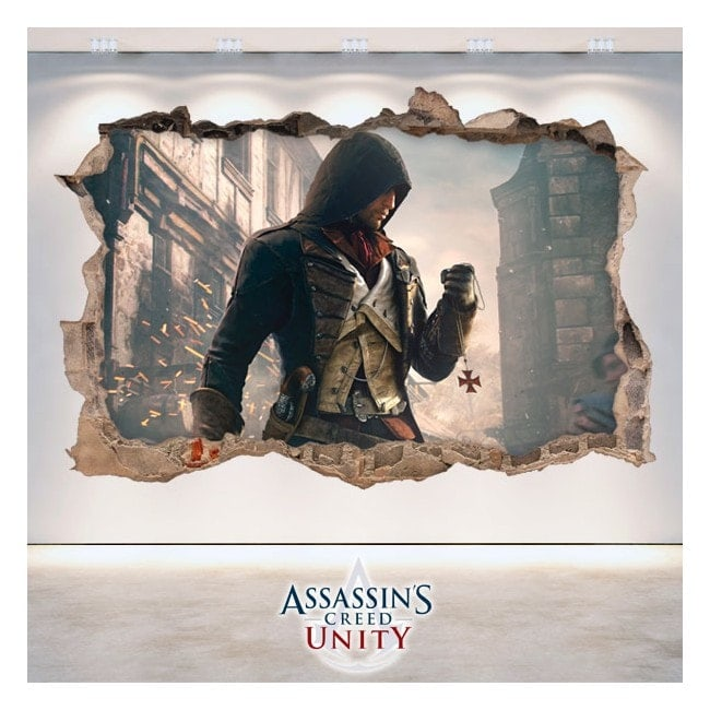 Creed l'unité décoratif vinyl 3D Assassin