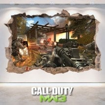 Vinyle et autocollants 3D Call Of Duty Modern Warfare 3