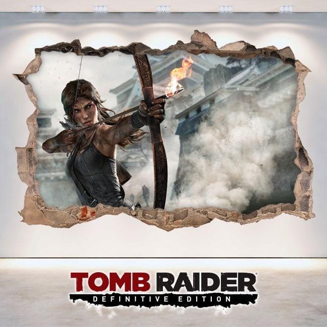 Vidéo jeu 3D Lara Croft Tomb Raider définitif édition vinyle