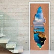 Vinyls pour les portes de la 3D Sea Ray