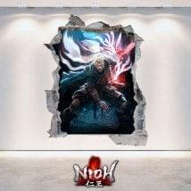 Décoratif vinyl Nioh 3D