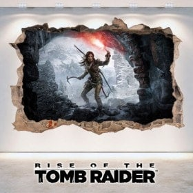Vinyle décoratif 3D Rise de The Tomb Raider