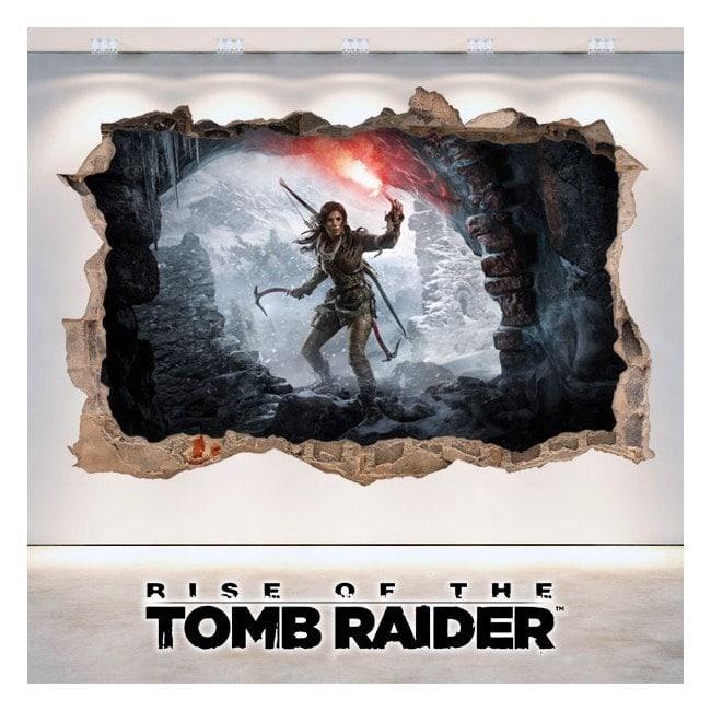 Vinyle décoratif 3D Rise de The Tomb Raider