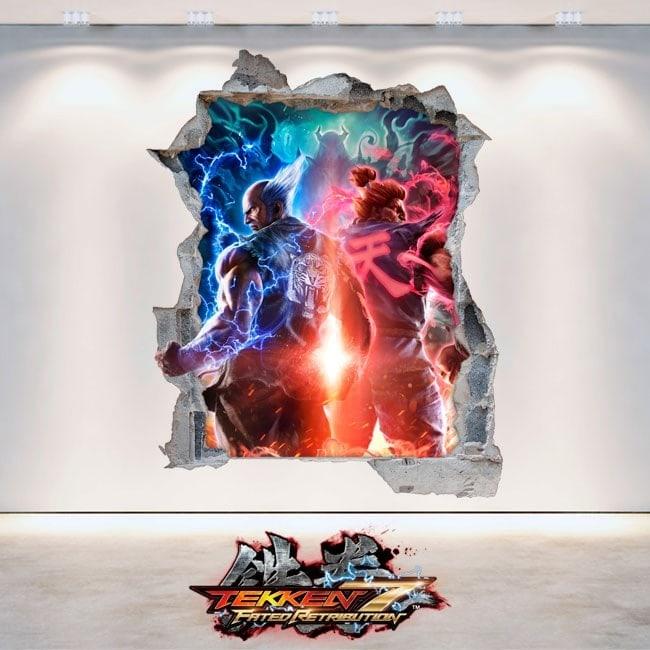 Décoratif vinyl 3D Tekken 7