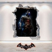 Décoratif vinyl 3D Batman Arkham Knight
