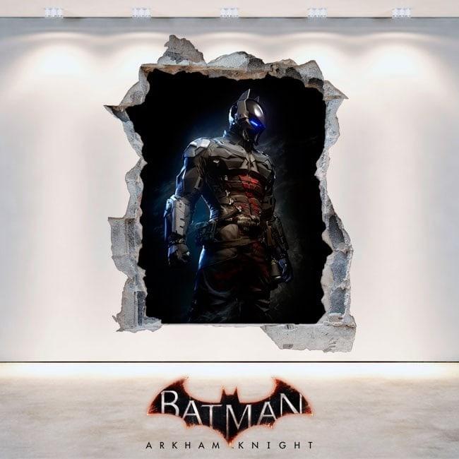 Décoratif vinyl 3D Batman Arkham Knight