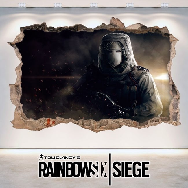 Siège de vinyle 3D Tom Clancy Rainbow Six