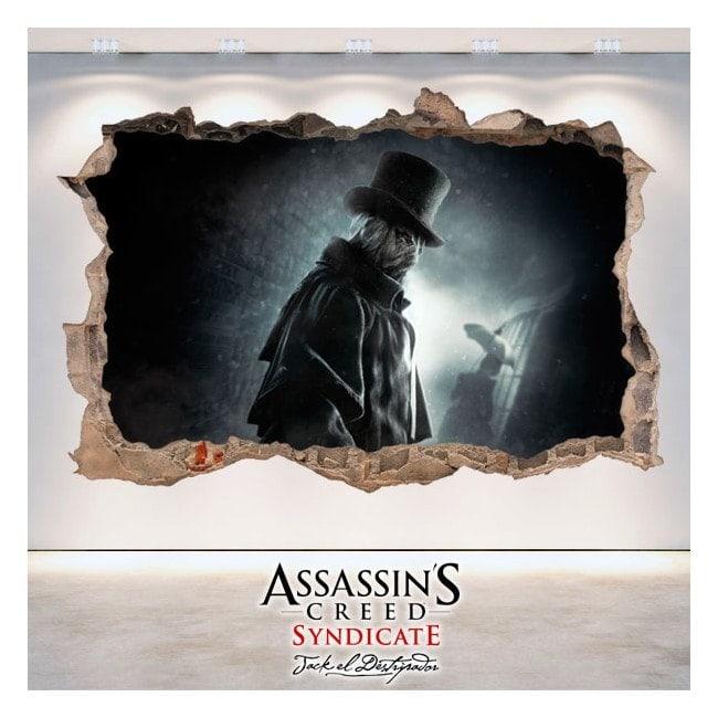 Vinyl 3D Assassin Creed Syndicate Jack l'éventreur