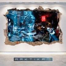 Vinyle et autocollants 3D Arktika 1