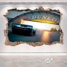 Tourisme grand vinyle Bugatti Vision 3D