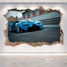 Grand Tourisme de vinyle Bugatti 3D Vision