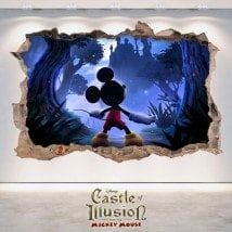 En vinyle 3D Castle Of Illusion pour enfants