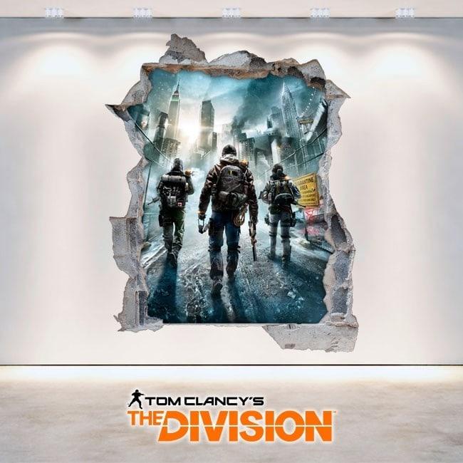 La Division de décoratif vinyl 3D Tom Clancy