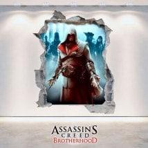 Autocollants et Vynils 3D Assassin creed: Brotherhood