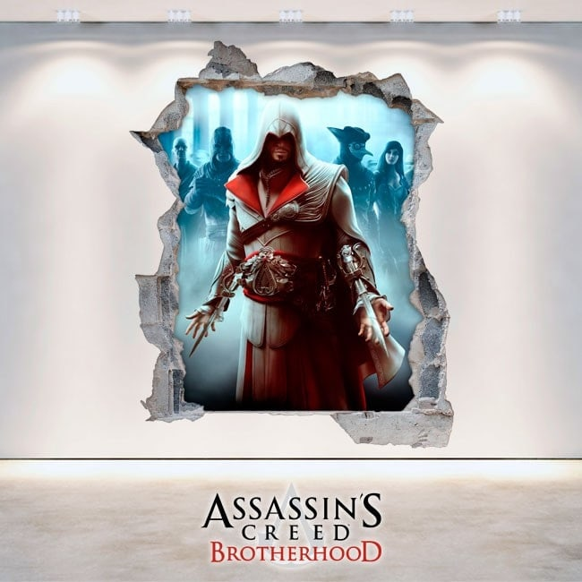 Autocollants et Vynils 3D Assassin creed : Brotherhood