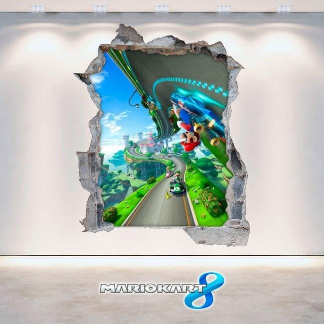 Jeux de vidéo 3D Mario Kart 8 vinyle