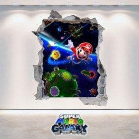Vinyle vidéo jeu 3D Super Mario Galaxy