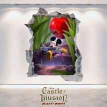 Autocollants et des vynils Castle Of Illusion 3D enfants