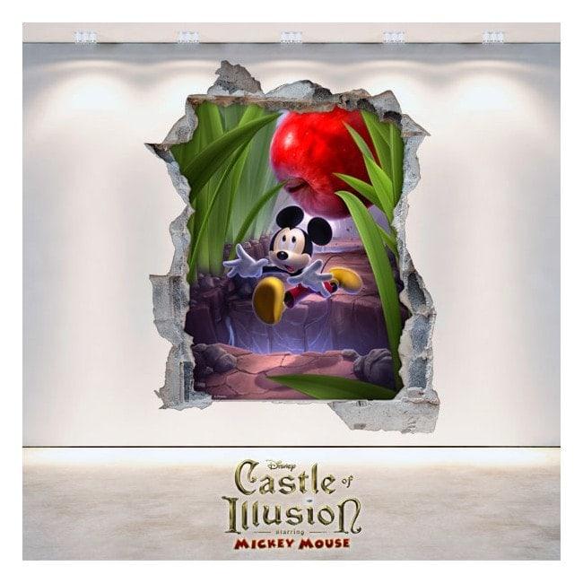 Autocollants et des vynils Castle Of Illusion 3D enfants