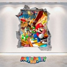 Vinyle vidéo jeu 3D Mario Party DS