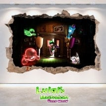 Autocollants et vynils de Luigi Mansion Dark Moon