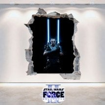 Décoratif vinyl Star Wars The Force Unleashed 2