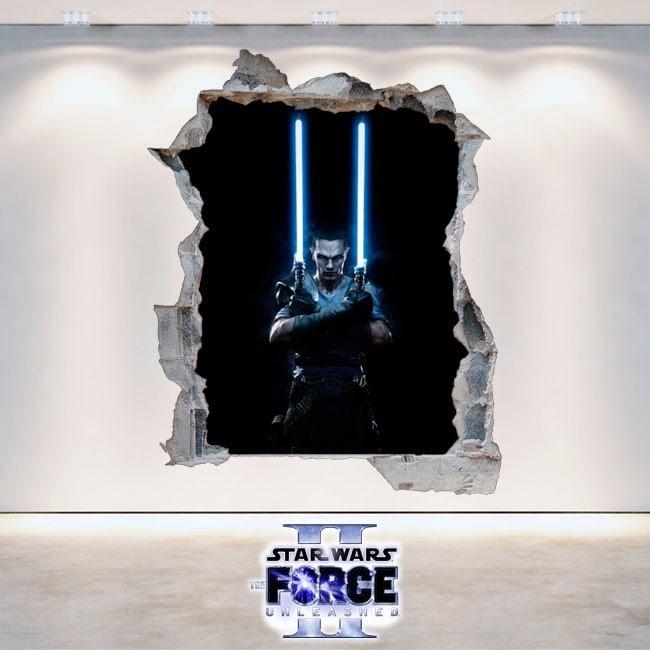 Décoratif vinyl Star Wars The Force Unleashed 2