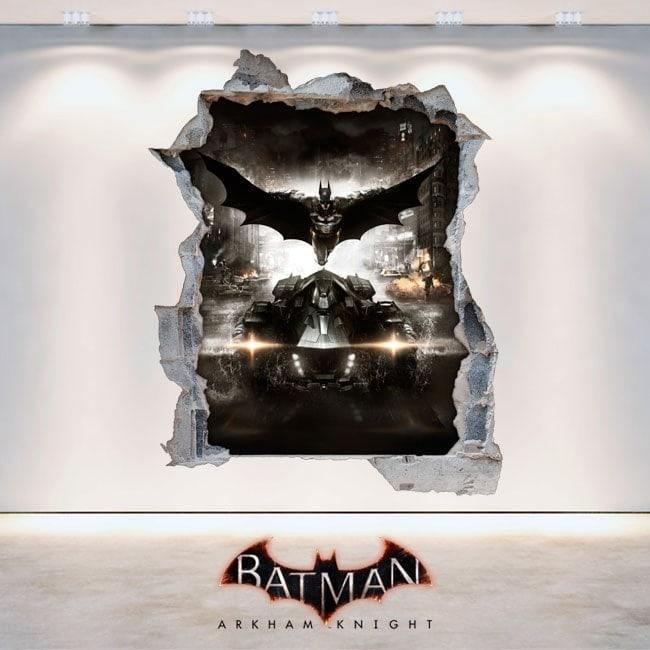 Décoratif vinyl Batman Arkham Knight 3D