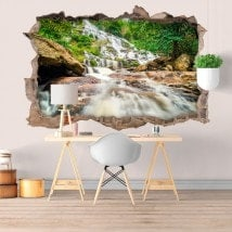 Vinyle décoratifs 3D cascades