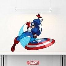 Vinyle Captain America