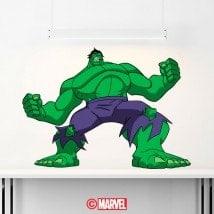 Panneaux luminescents divisant fluowall Hulk