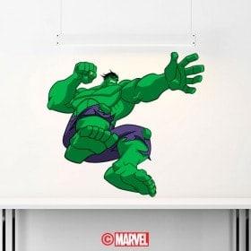Autocollants et vynils Hulk