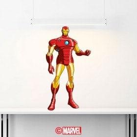 Vinyle décoratif Iron Man