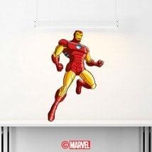 Autocollants et vinyle Iron Man