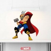 Autocollants et vinyle Marvel Thor