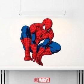 Autocollants et vinyle Spiderman