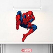 Autocollants en vinyle Spiderman