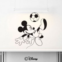 Football de Mickey Mouse de vinyle