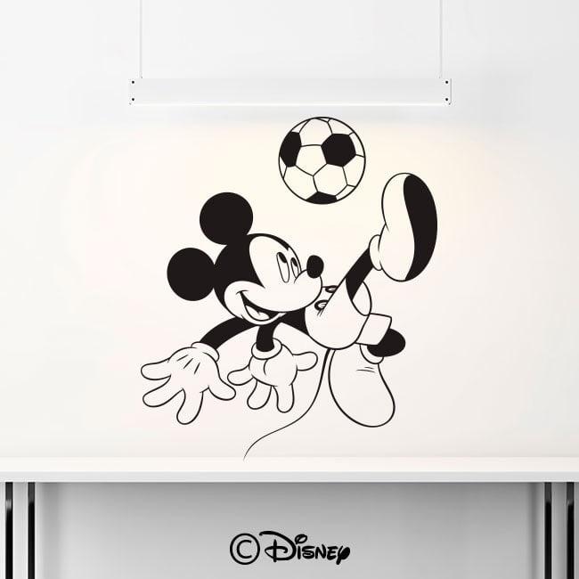 Football de Mickey Mouse de vinyle