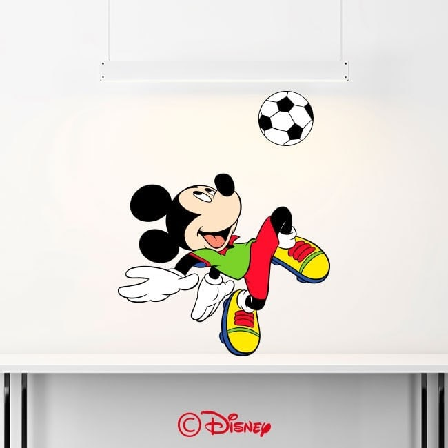 Autocollants et vinyle Mickey Mouse French 6351