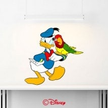 Autocollants et vinyle Donald Duck French 6368