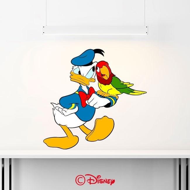 Autocollants et vinyle Donald Duck French 6368