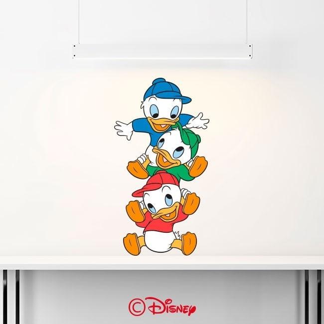 Vinyle décoratif de Donald Duck neveux