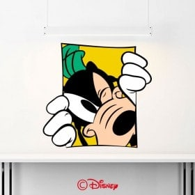 Vinyle murs Disney Goofy