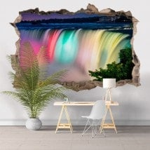 Couleurs de vinyle 3D Niagara falls
