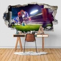 Football de vinyle 3D