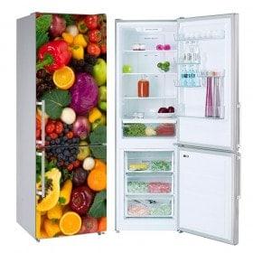 Stickers muraux Neveras Légumes et fruits
