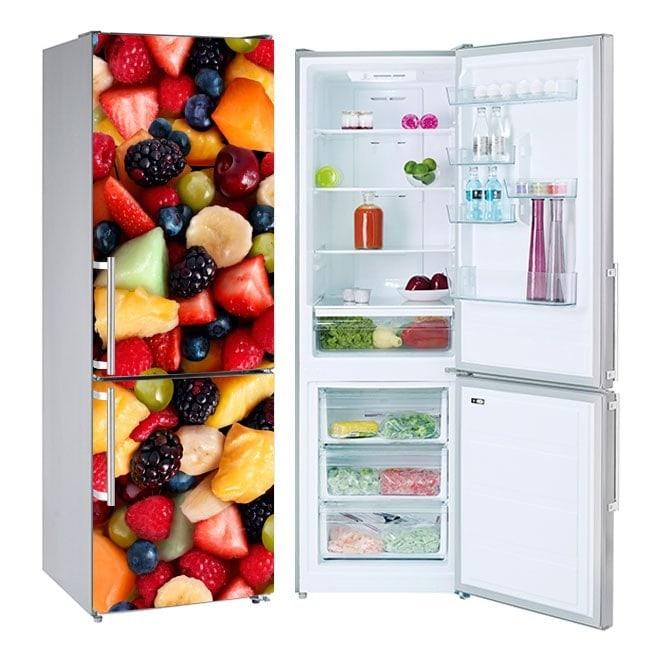 Autocollants réfrigérateurs collage de fruits